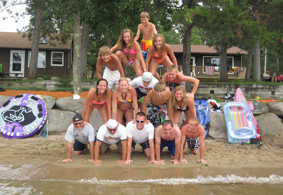 Lifelong friendships begin at Eagle Beach