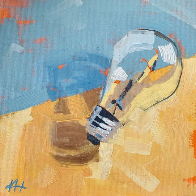 """Lightbulb Moment"" by Kyle Heath"