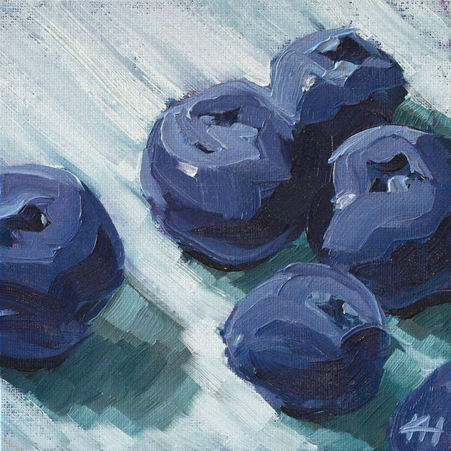 """Blueberries"" by Kyle Heath"