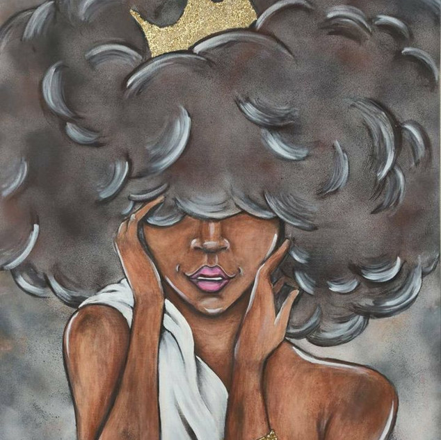 """Queen of the Storm"" by Dawnielle Ferguson"