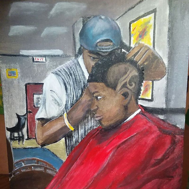 """Getting a Sporty Cut"" by Dawnielle Ferguson"