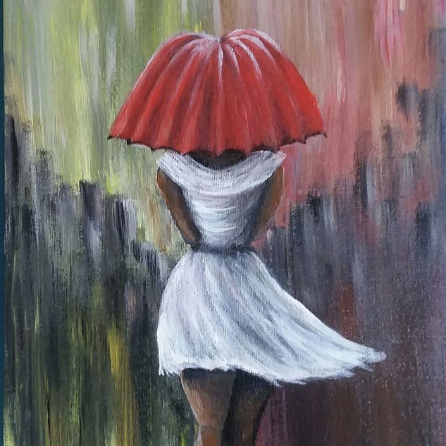 """In The Rain"" by Dawnielle Ferguson"