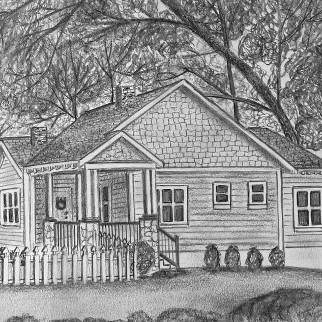 Your House Rendering by Ashley Brickner