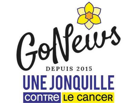 Le Groupe GoNews ce mais au couleur de la jonquille pour aider la recherche contre le cancer