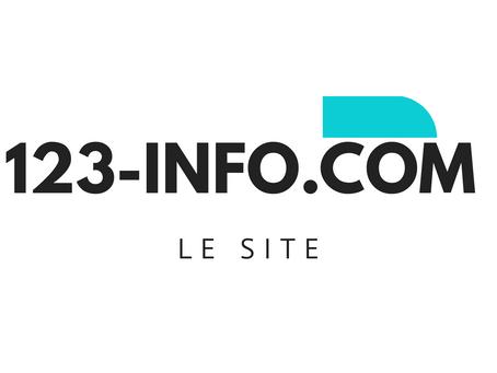 Lancement du nouveau site-web 123 INFO