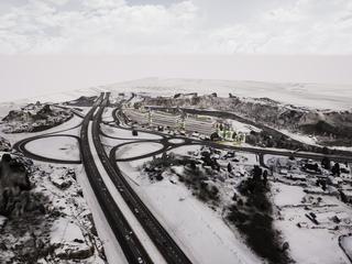 Bommestad crossing, Larvik