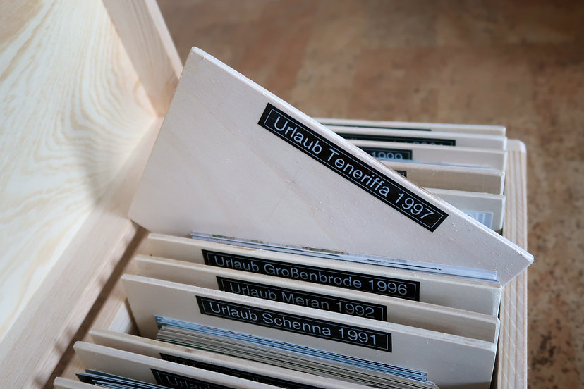 Fotobox aus Holz