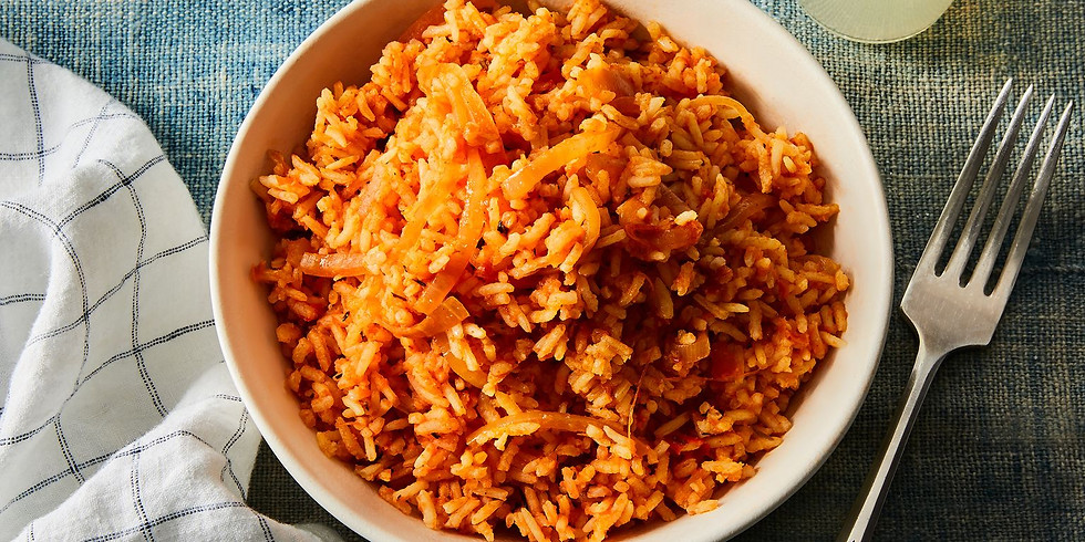 The Jollof-a-long: Learn how to cook Jollof with Tobi