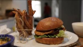 Suya fillet burger