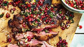 FAST FOOD ALT: JEWELLED LAMB KEBABS