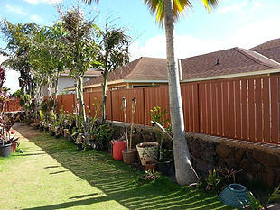 "4"" slat vertically, by SNJ Supply, Hawaii Knotwood Installer"