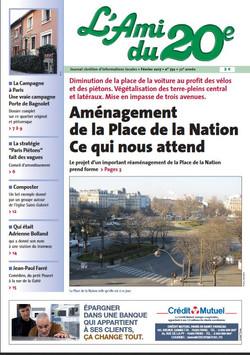 Journal L'Ami du 20ème