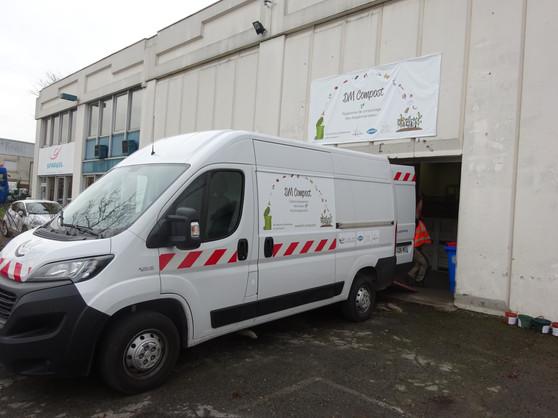 Vehicule collecte biodéchets