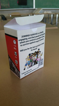 Unofficial printing of the box