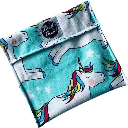 Unicorns, Reusable Sandwich Bag