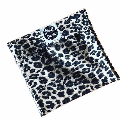 Leopard, Reusable Sandwich Bag