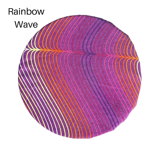 Rainbow Wave, Reusable Bowl Cover (22cm)