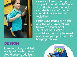 Back to School Backpack Tips