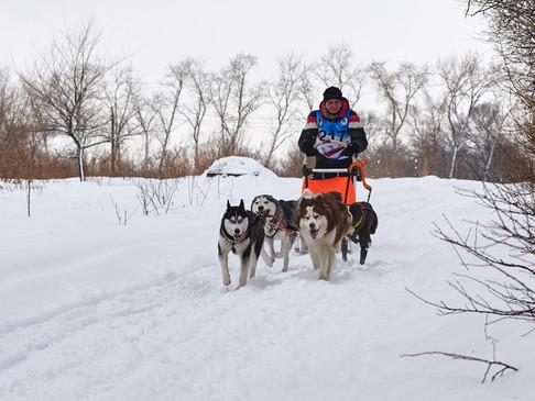 Снежный Драйв 2018 - соревнования СЕС от Хабаровского района