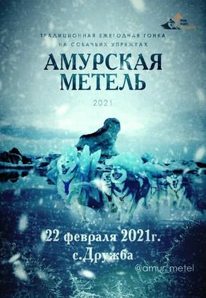Амурская Метель 2021 - Традиционная гонка на собачьих упряжках
