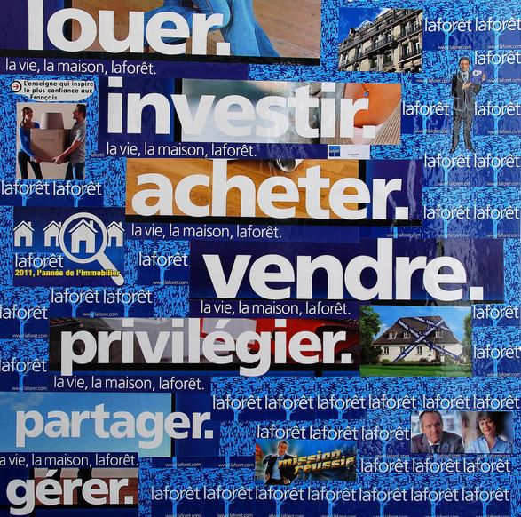 Collage Laforêt : les métiers