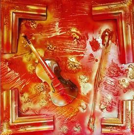 Moz'Art Red & Gold