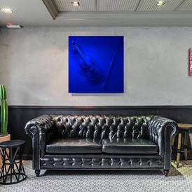 Moz'Art blue IKB Mat