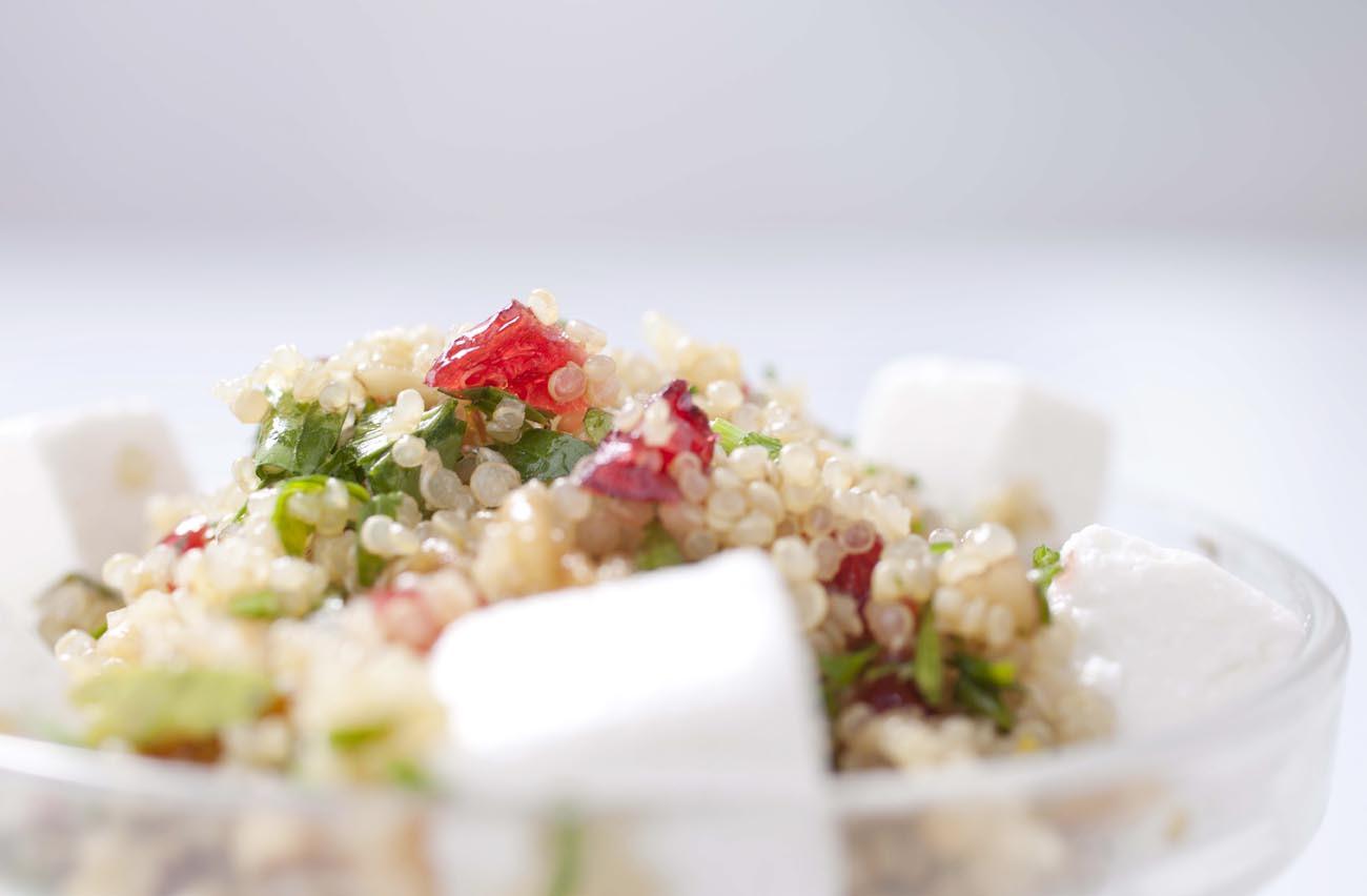 Cran Quinoa Salad