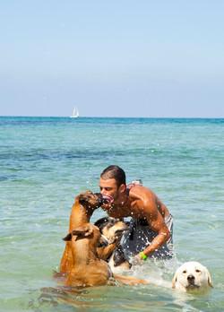 Dog Trainer © LYNN COUNIO,  צלמת לין