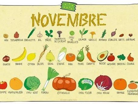 Les bienfaits des fruits et des legumes de saison