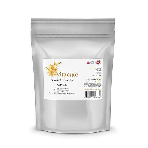 Vitamin K2 Complex 600MCG MK-7 & 3,000IU Vitamin D3