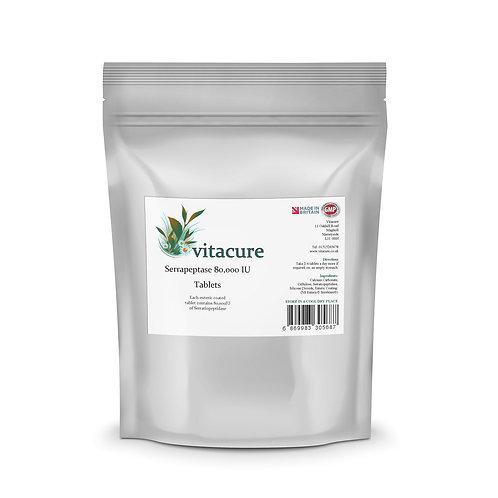 Serrapeptase 80,000IU Enteric Coated Tablets