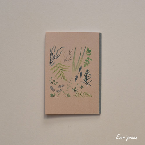 Ever Green Notebook