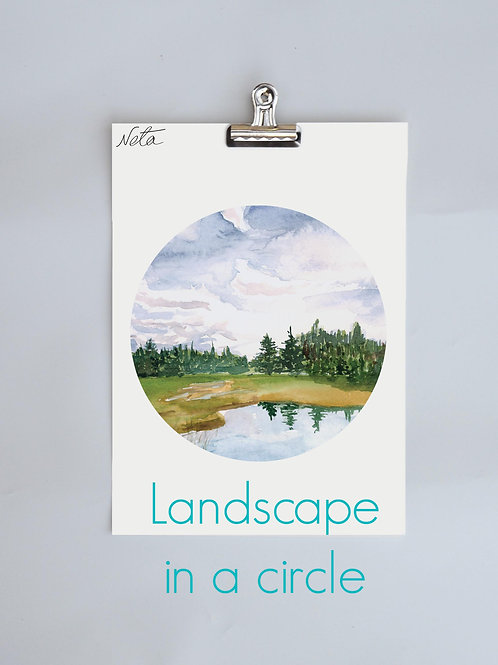 Landscape in a Circle
