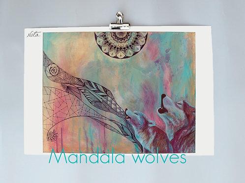 Mandala Wolves