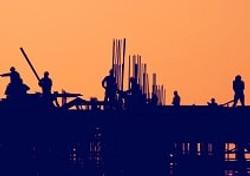 Civil Construction-silhoutte of workser