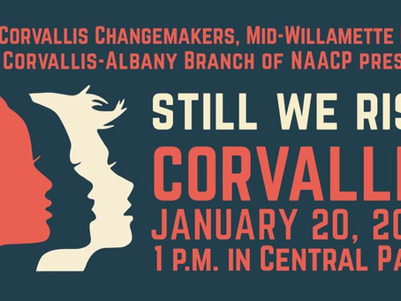 Corvallis Still We Rise Women's March