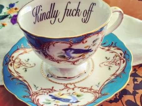 Monday Mayhem – Breaking the glass ceiling and spilling tea