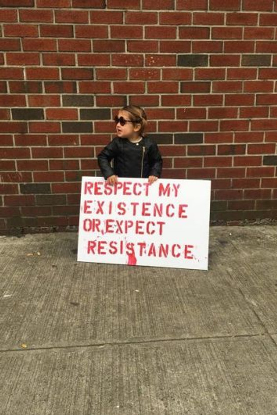 Little Girl Resistance