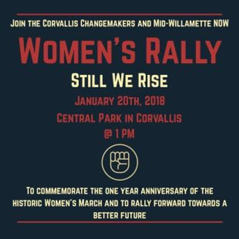 Corvallis Changemakers Park Rally