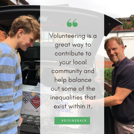 Lee and Cormac's Volunteering Story
