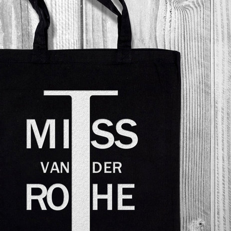 Tribute to modernism: I Miss Van Der Rohe