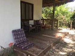 Bellevue Garden Cottage patio
