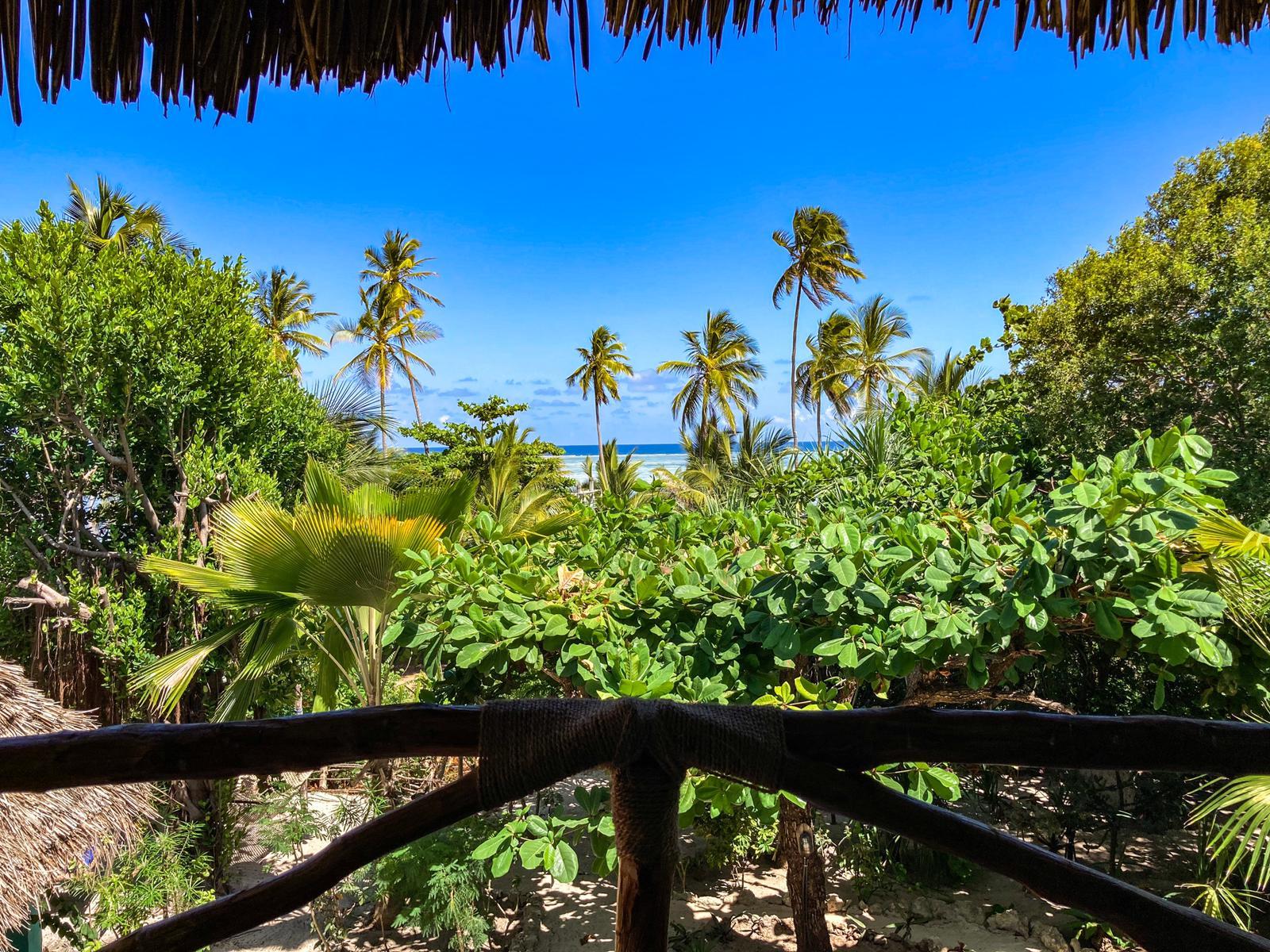 Bellevue Zanzibar Ocean view Suite view.