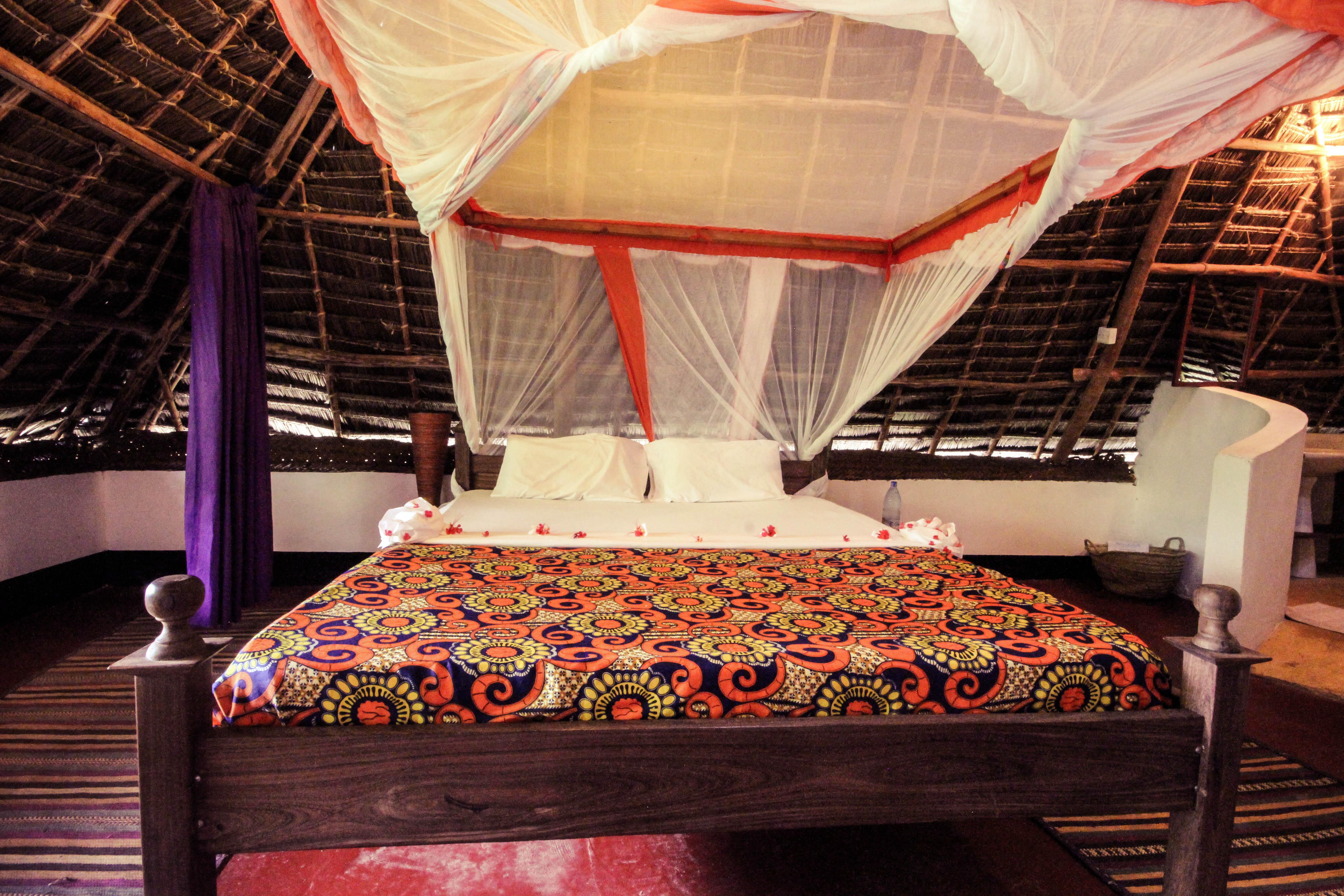 Bellevue Garden Caottage bed