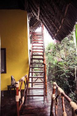 Bellevue Garden Caottage stairs