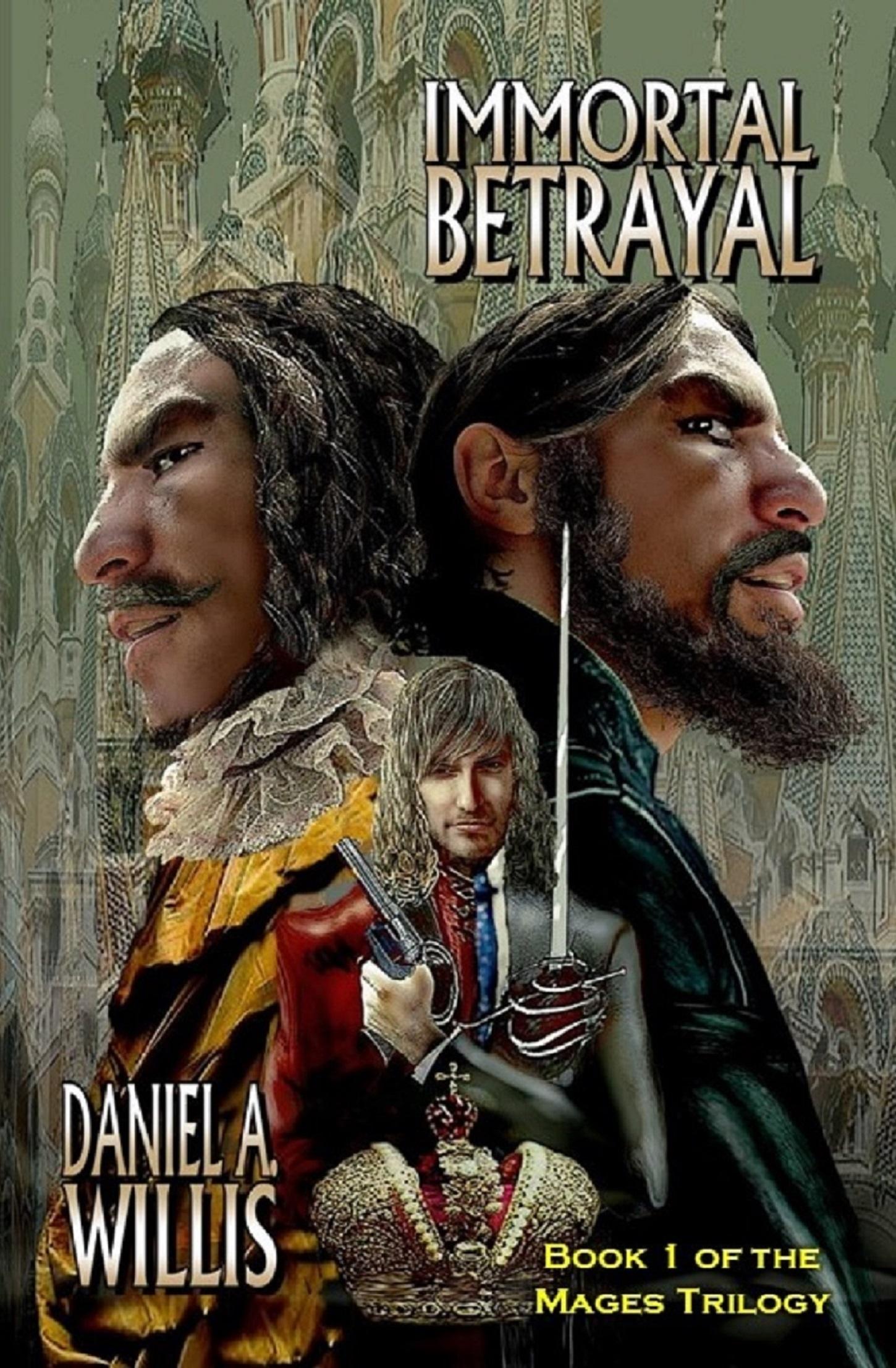 Betrayal 2018 ebook cover