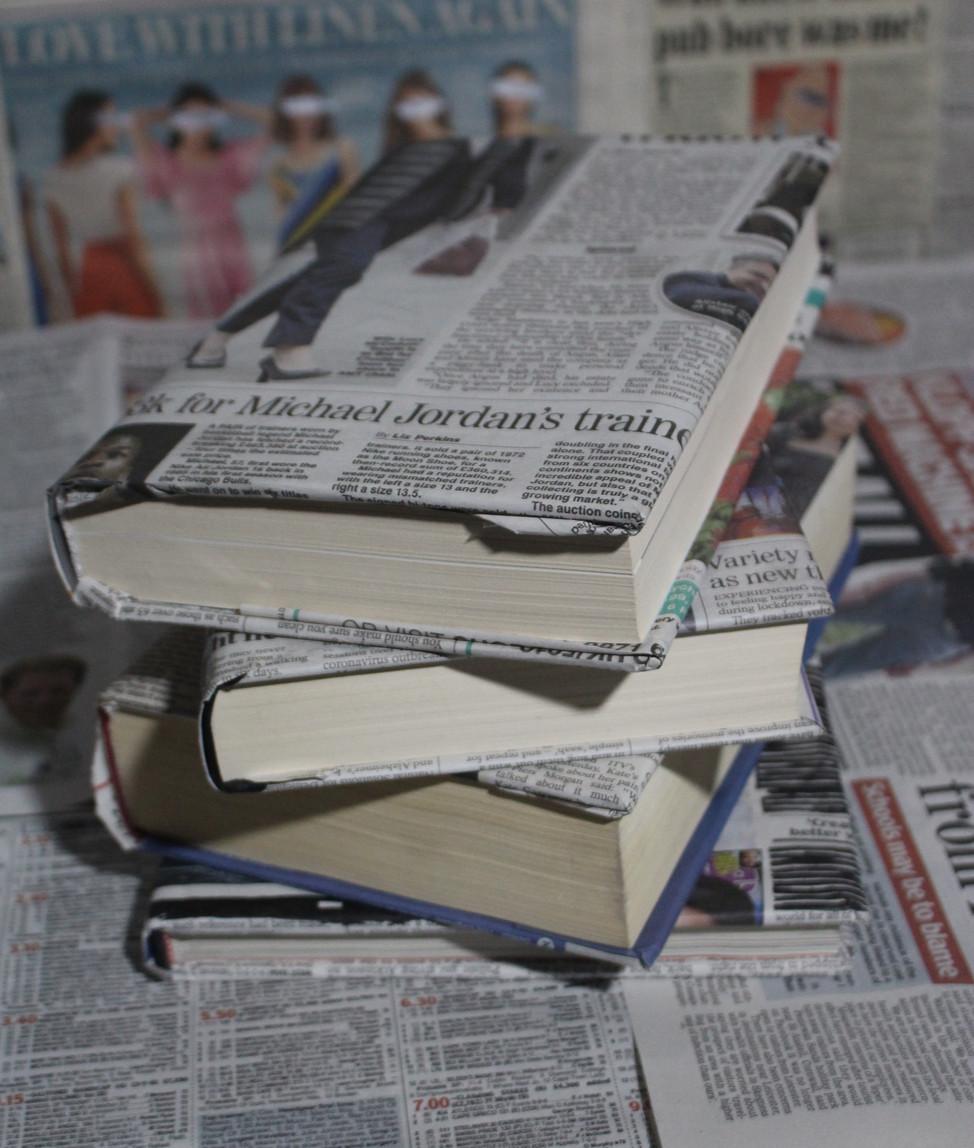 Sticky Objects: Stack of Books