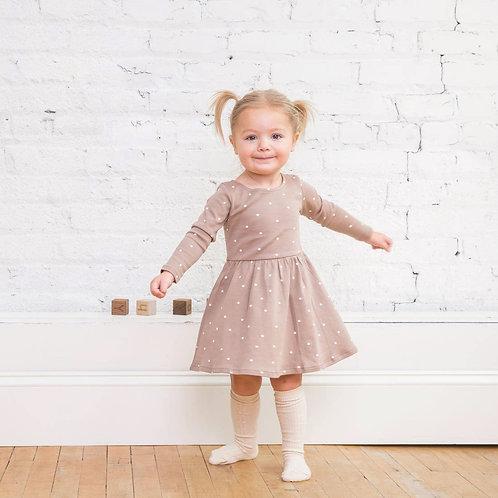 Preorder Stell Swing Dress - Mini-Dot Print