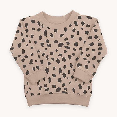 Portland Pullover - Cheetah Print